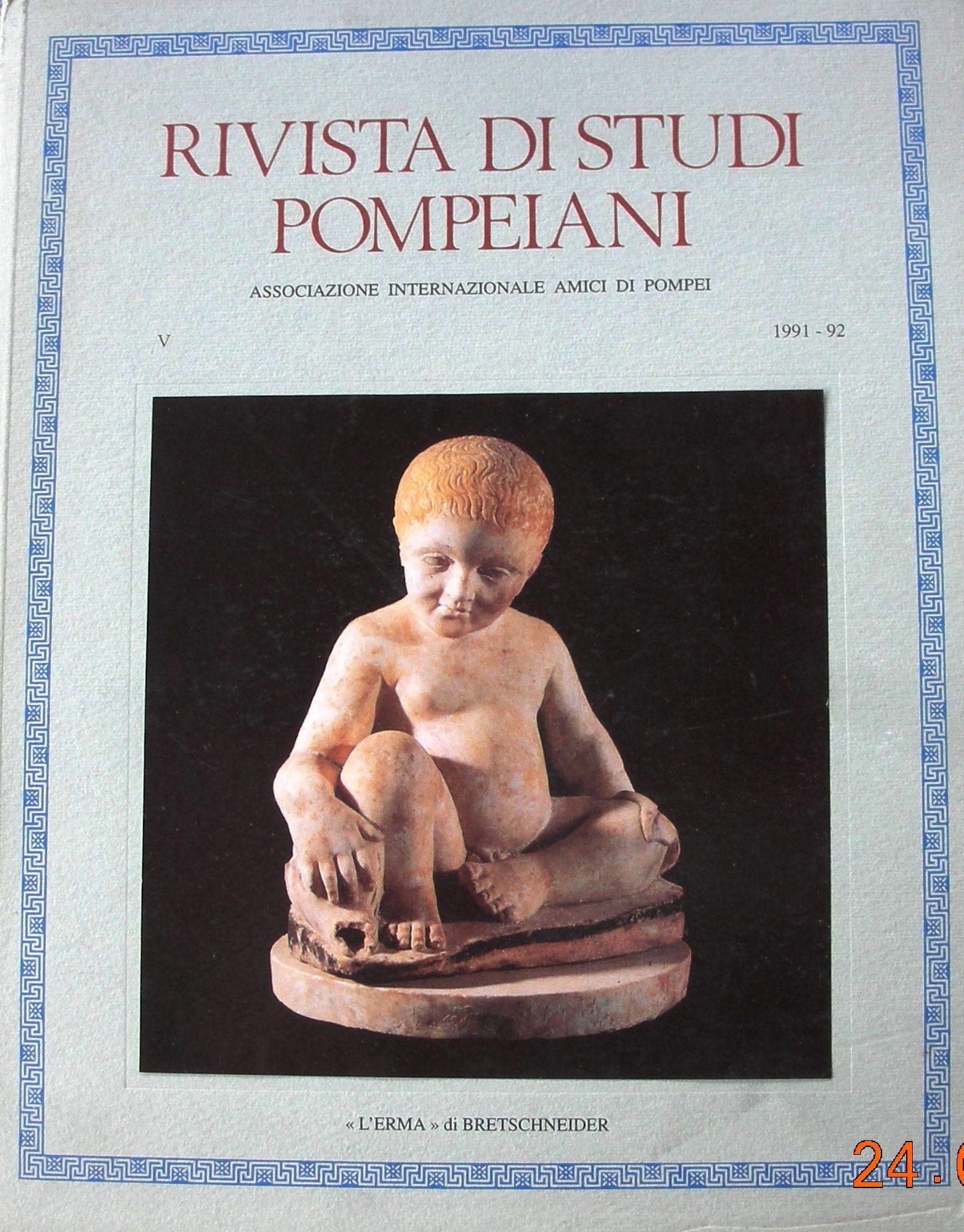Rivista di studi pompeiani vol. 5 (1994)