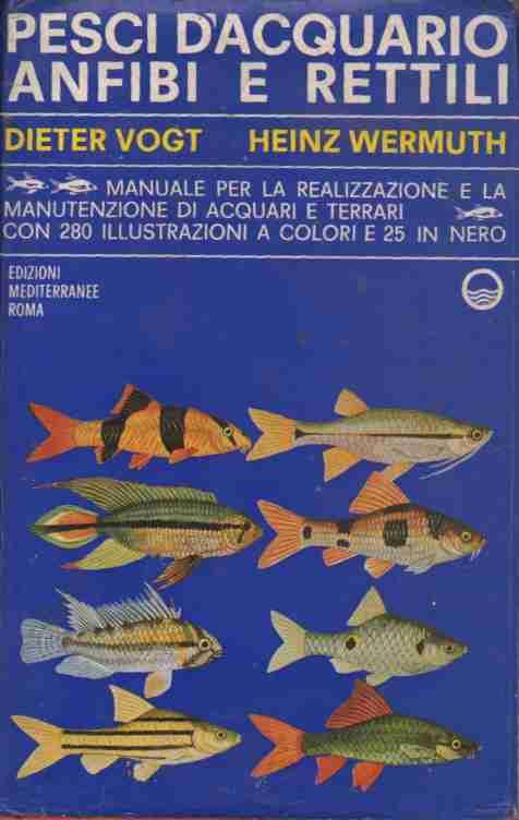 Pesci d'acquario, anfibi e rettili