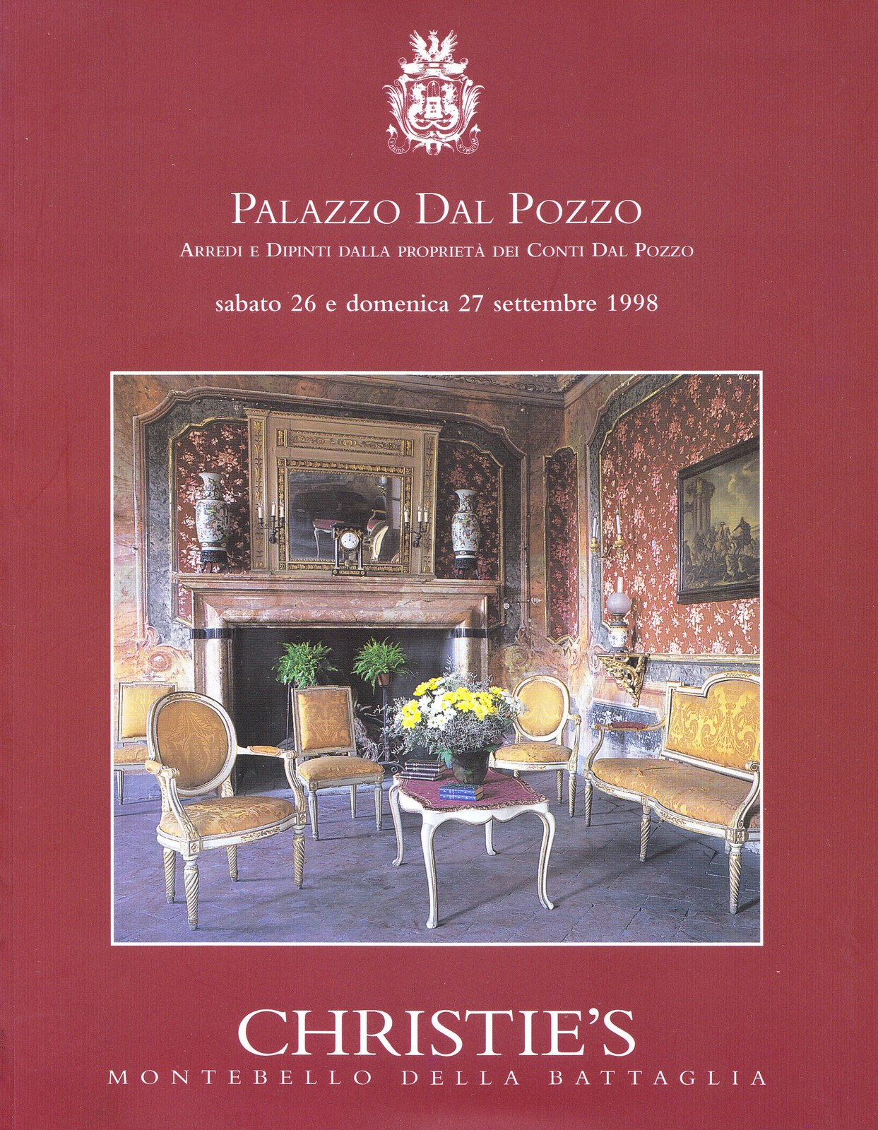 Palazzo Dal Pozzo, Montebello della Battaglia