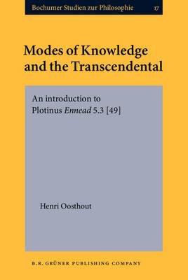 Modes of Knowledge and the Transcendental