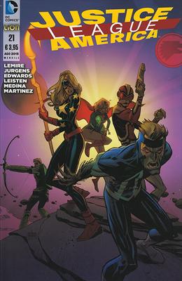 Justice League America n. 21