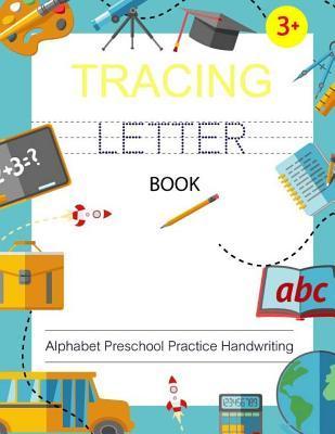 Letter Tracing Book Alphabet Preschool Practice Handwriting