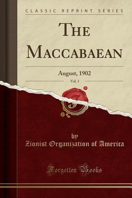 The Maccabaean, Vol. 3