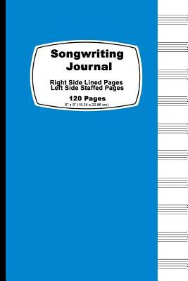 Songwriting Journal, Dreamy Blue Cover
