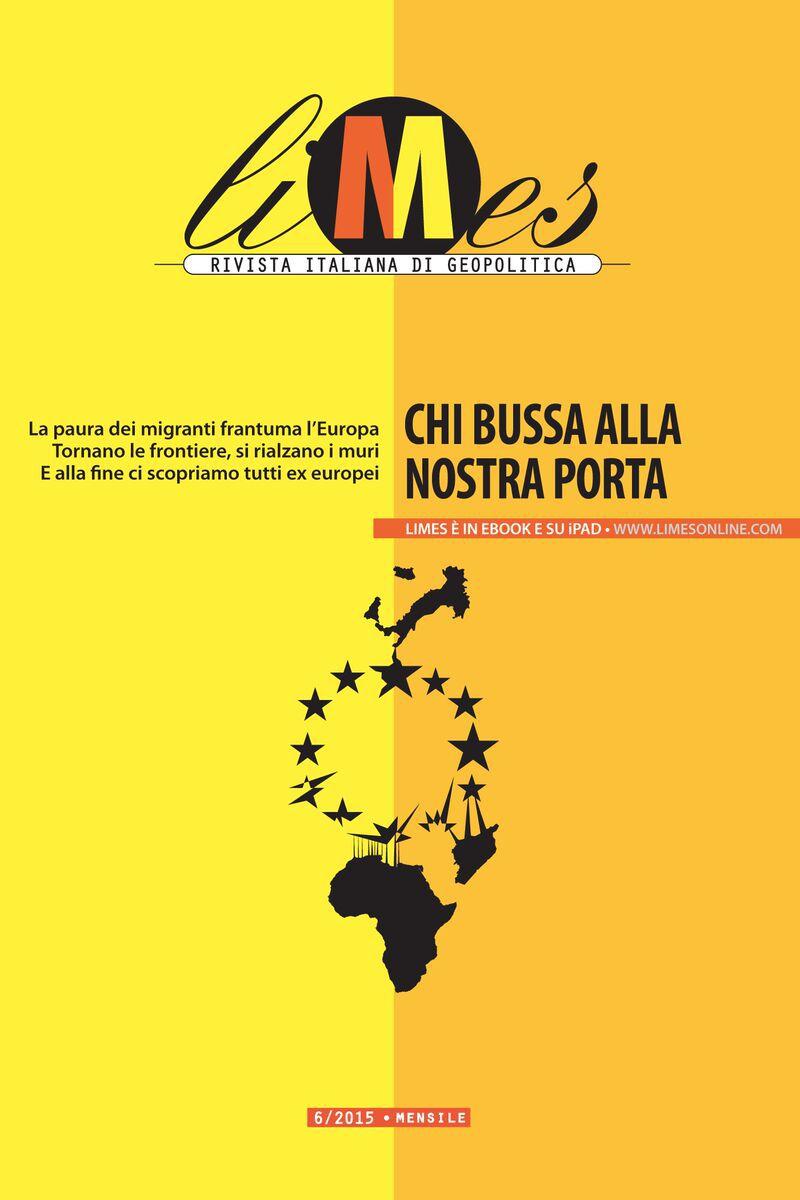 Limes, Rivista italiana di geopolitica, 6/2015