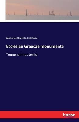 Ecclesiae Graecae monumenta