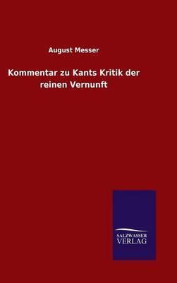 Kommentar zu Kants Kritik der reinen Vernunft
