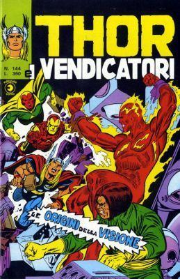 Thor e i Vendicatori (Il Mitico Thor) n. 144
