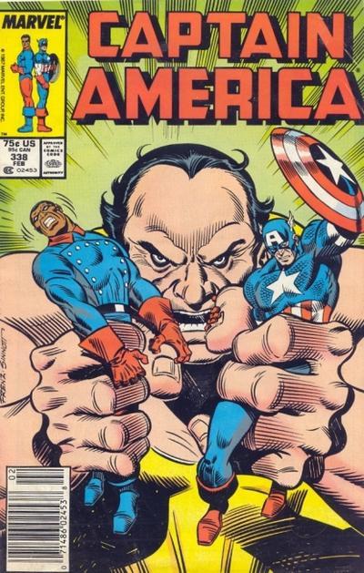 Captain America Vol.1 #338