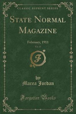 State Normal Magazine, Vol. 15