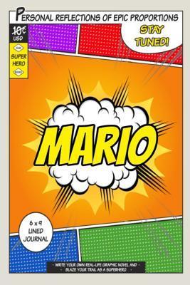 Superhero Mario Journal