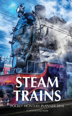 Steam Trains Pocket 2018 Calendar