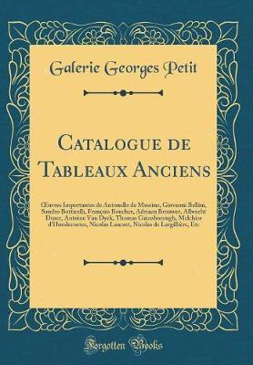 Catalogue de Tableau...