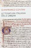Letteratura italiana delle origini