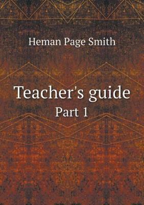 Teacher's Guide Part 1