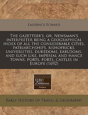 The Gazetteer's, Or,...