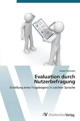 Evaluation durch Nutzerbefragung