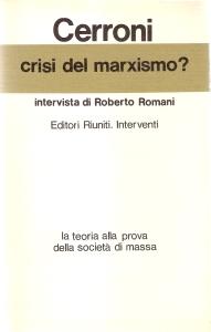 Crisi del marxismo?