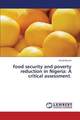 Food security and poverty reduction in Nigeria