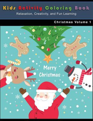Christmas Kids Activity Coloring Book