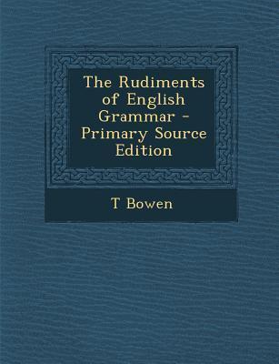 Rudiments of English Grammar