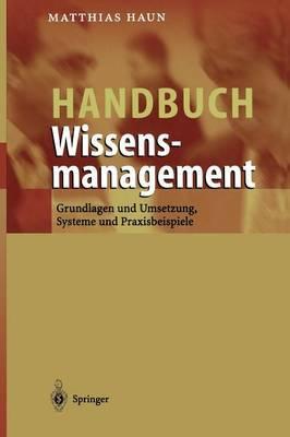 Handbuch Wissensmanagement