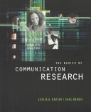 The Basics of Communication Research