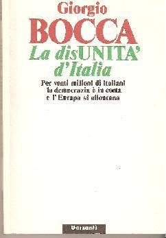 La disunità d'Itali...