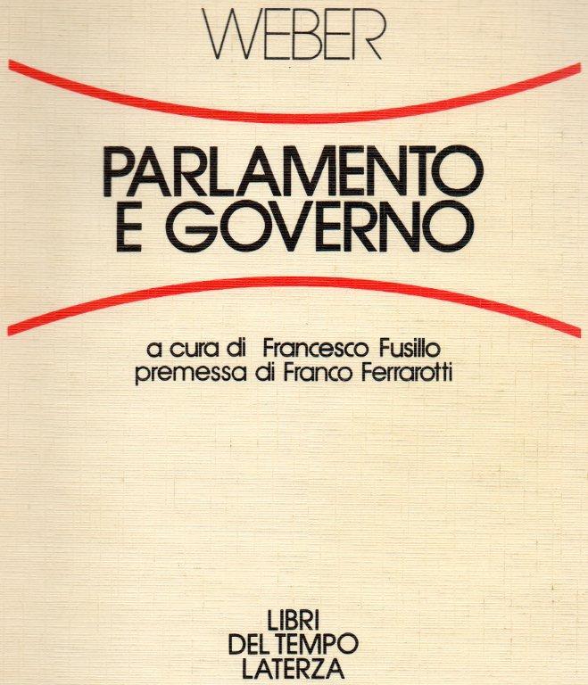 Parlamento e governo