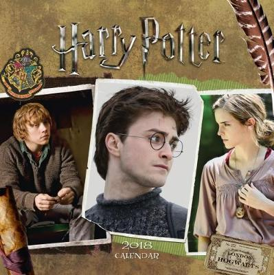 Harry Potter Official 2018 Calendar - Square Wall Format Calendar (Calendar 2018)