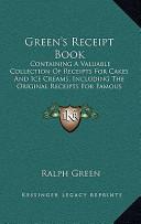 Green's Receipt Book