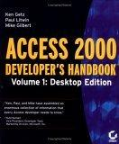 Access 2000 Developer's Handbook Volume 1