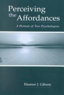 Perceiving the Affordances