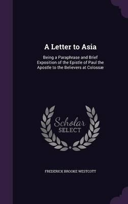 A Letter to Asia