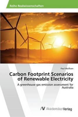 Carbon Footprint Scenarios of Renewable Electricity