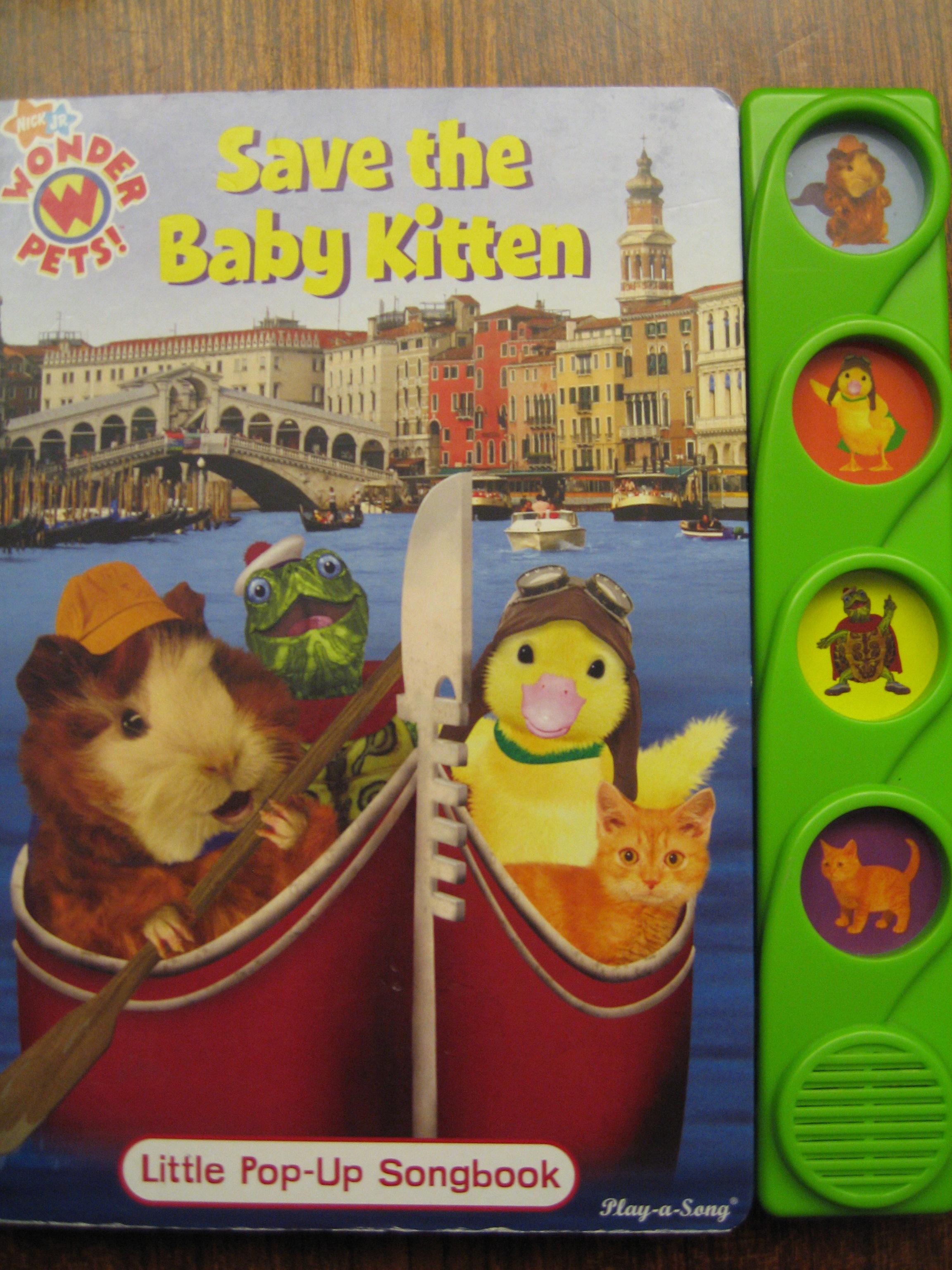 Save the Baby Kitten