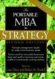 Portable MBA Strategy 2e