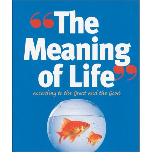 The Meaning of Life According to the Great and the Good