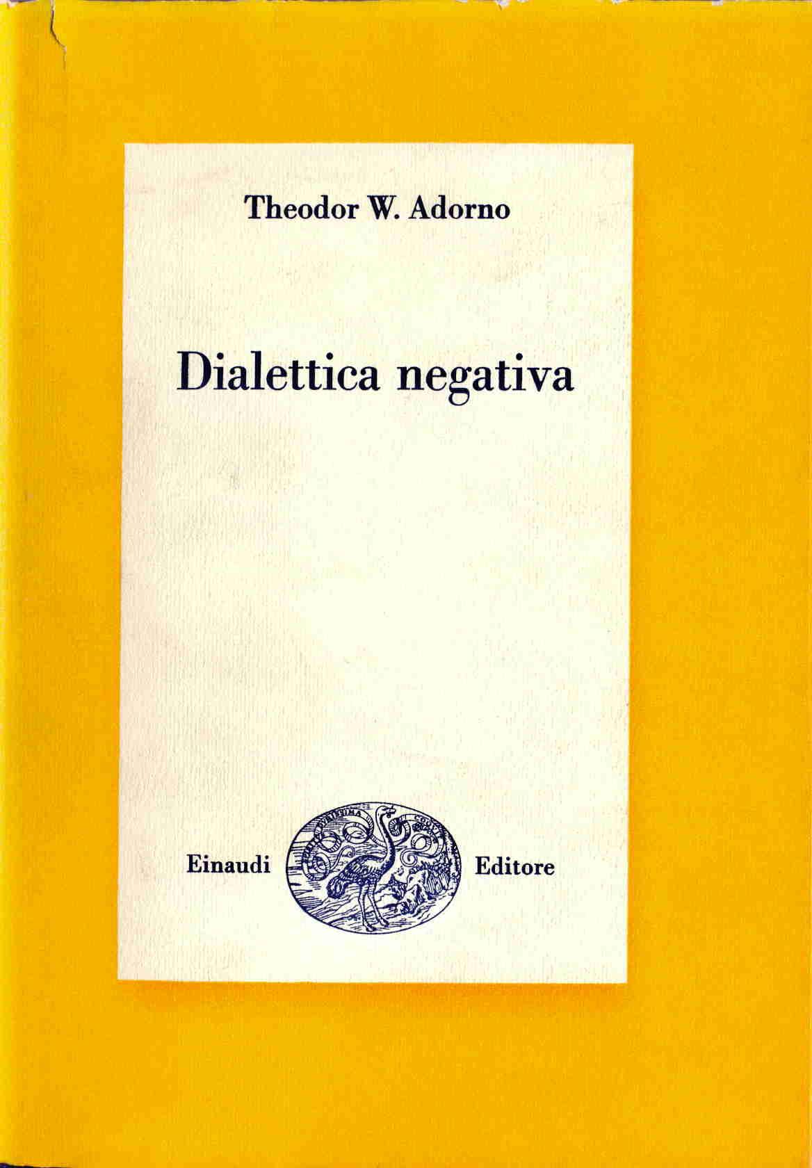 Dialettica negativa