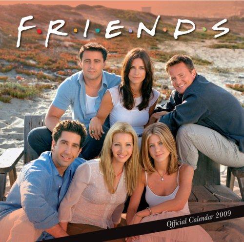 Friends TV Square Calendar 2009
