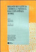 Biblioteche e lettura a Modena e provincia dall'Unità d'Italia ad oggi
