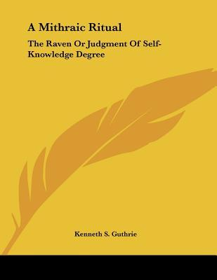 The Raven or Judgment of Self-knowledge Degree
