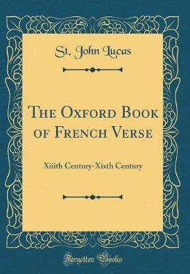 The Oxford Book of French Verse