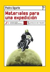 Materiales para una expedición