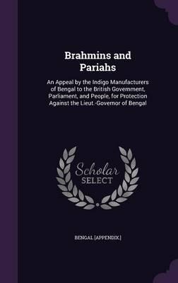 Brahmins and Pariahs