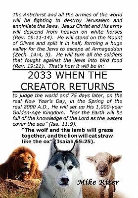2033 When the Creator Returns