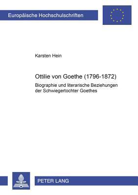 Ottilie von Goethe (1796-1872)