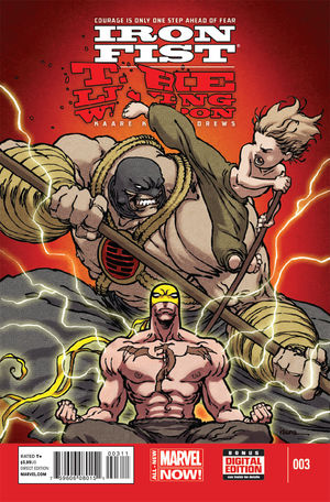 Iron Fist: The Living Weapon Vol.1 #3