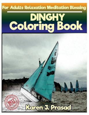 DINGHY Coloring book for Adults Relaxation  Meditation Blessing