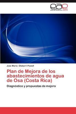 Plan de Mejora de los abastecimientos de agua de Osa (Costa Rica)